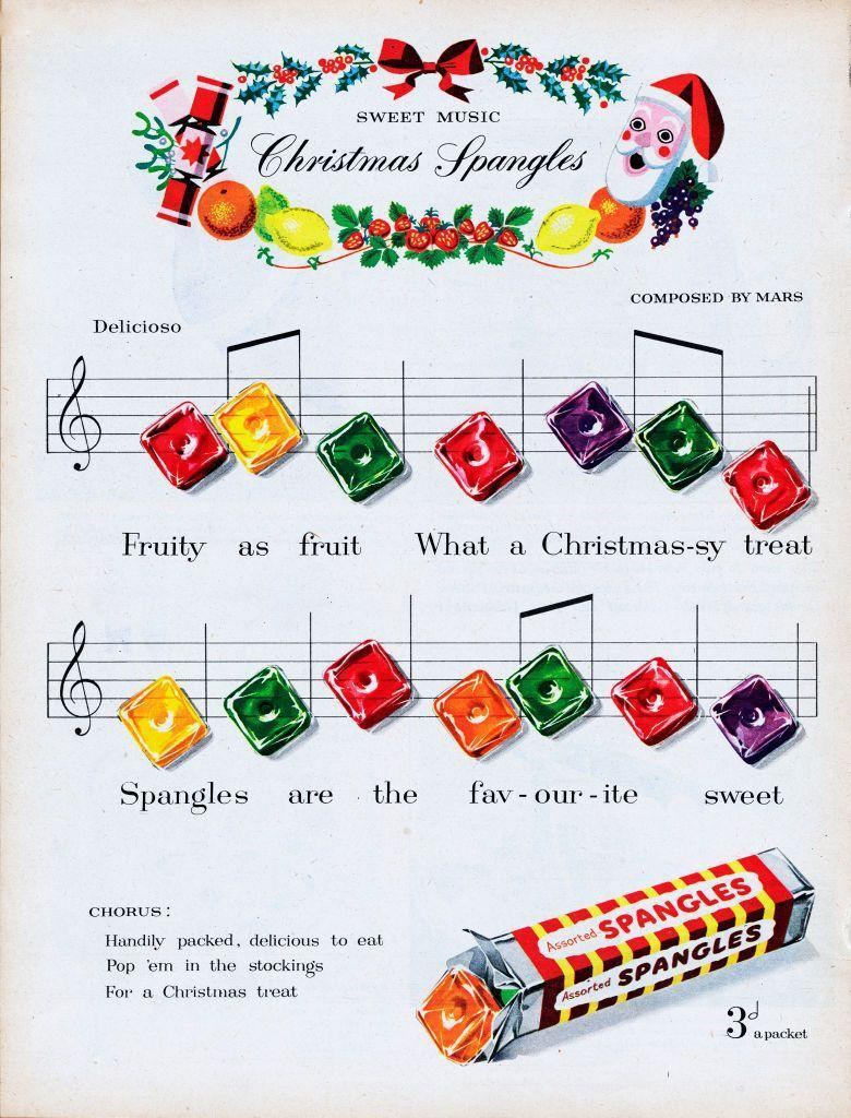 <p>Nothing is more memorable than a Christmas tune, so that's probably why Spangles Candy decided to turn their fruity treats into a holiday jingle. </p>
