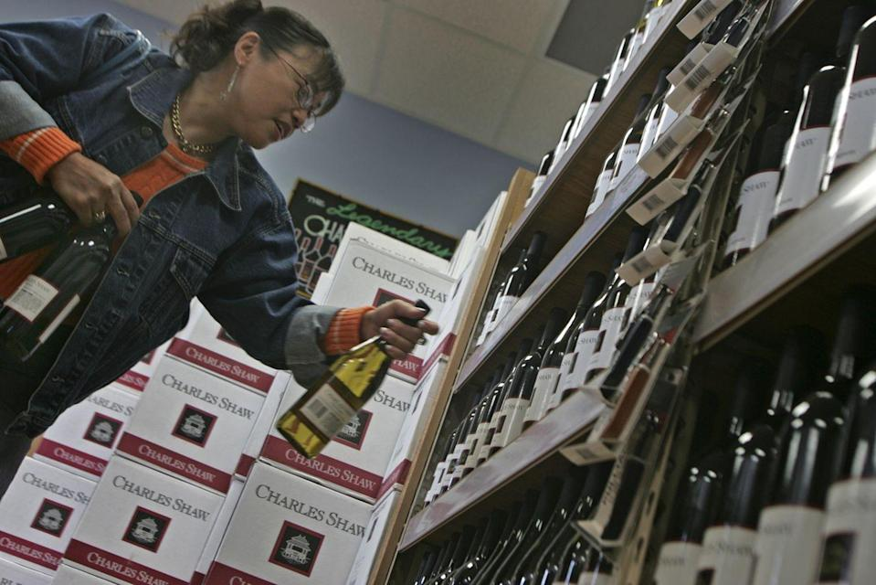 "<p>Even back in the '60s, Trader Joe's was selling wine, but only bottles from California. Since then, the store has become one of the best places to snag a bargain vino. Three words: <a href=""https://www.traderjoes.com/our-story/timeline"" rel=""nofollow noopener"" target=""_blank"" data-ylk=""slk:Two Buck Chuck"" class=""link rapid-noclick-resp"">Two Buck Chuck</a>—aka the Charles Shaw sensation that took off in 2002. </p>"
