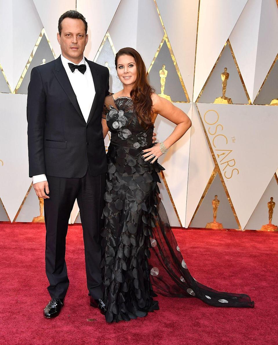 <p>Vaughn married Kyla Weber, a real estate agent from Calgary, Canada, in 2010.</p>