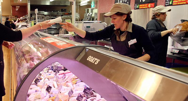 Liz Lloyd bought the problem schnitzel from Coles (not pictured) on Monday. Source: Getty Images