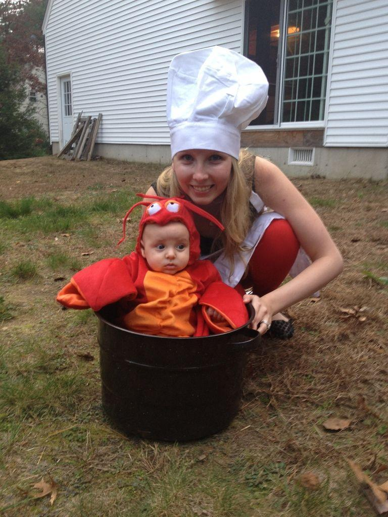 """<p>This lobster is so cute we could just eat him up and his mom thinks so too.</p><p><a class=""""link rapid-noclick-resp"""" href=""""https://www.amazon.com/Master-Chef-Maine-Lobster-Costume/dp/B0744ZSF45?tag=syn-yahoo-20&ascsubtag=%5Bartid%7C10072.g.27868801%5Bsrc%7Cyahoo-us"""" rel=""""nofollow noopener"""" target=""""_blank"""" data-ylk=""""slk:SHOP COSTUME"""">SHOP COSTUME </a></p>"""