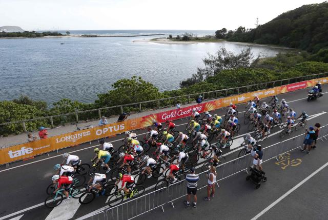 Cycling - Gold Coast 2018 Commonwealth Games - Women's Road Race - Currumbin Beachfront - Gold Coast, Australia - April 14, 2018. General view during the Women's Road Race. REUTERS/Paul Childs
