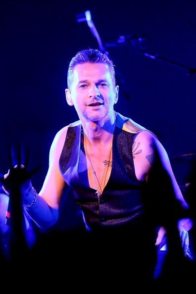 Dave Gahan performs in concert with Depeche Mode at Brazos Hall during the South By Southwest Music Festival on March 15, 2013 in Austin, Texas.  (Photo by Gary Miller/FilmMagic)