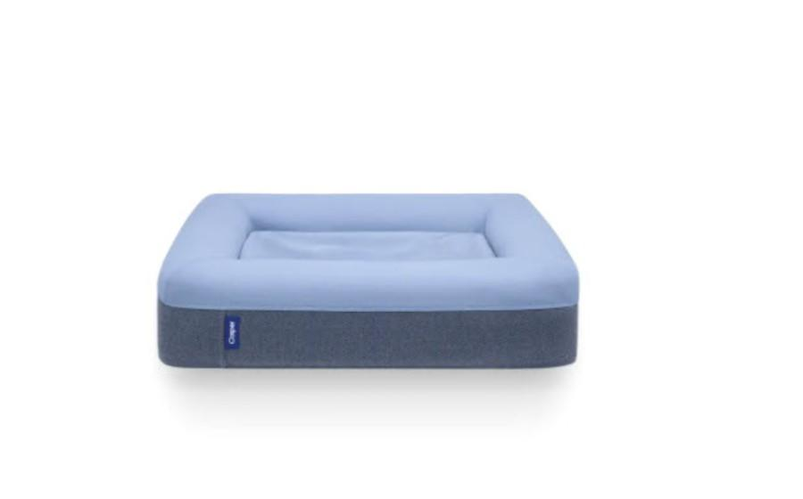 Medium Casper dog bed in blue, $135 (originally $150)