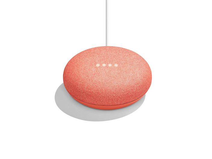"""Google Home Minis are the perfect addition for a friend who <em>loves</em> their Google Home. These minis, which work with the Google Home, can be added to another room in the house. That way they can find tunes, get fast answers, control the house temperature, etc., wherever they are! (This coral version is fun, but if you prefer something more neutral, you can choose blue, black, or gray.) $49, Walmart. <a href=""""https://www.walmart.com/ip/Google-Nest-Mini-2nd-Generation-Charcoal/741412707"""" rel=""""nofollow noopener"""" target=""""_blank"""" data-ylk=""""slk:Get it now!"""" class=""""link rapid-noclick-resp"""">Get it now!</a>"""