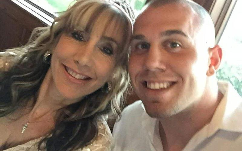 Tyler Dooley, Meghan Markle's nephew, with his mother Tracy - the ex wife of the Duchess of Sussex's half-brother Thomas - Pix supplied as a technical service by Tim Stewart News Limited. No copyright inferred or implied.