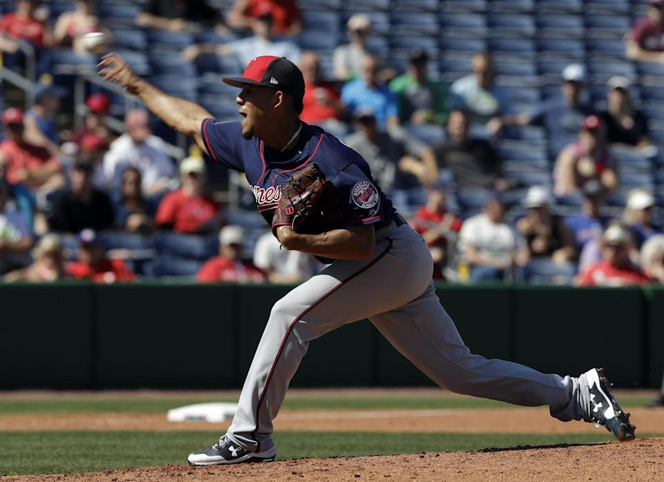 Jose Berrios is one of the young Twins players that need to take a step forward in 2017. (AP)