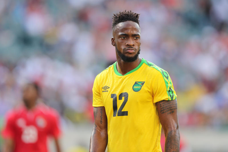 Junior Flemmings of Jamaica during the 2019 CONCACAF Gold Cup.