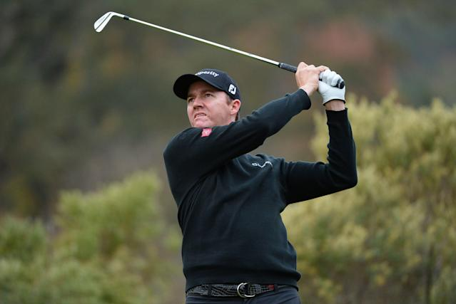 """<div class=""""caption""""> Jimmy Walker tees off on the third hole during the second round of the 2013 Frys.com Open. </div> <cite class=""""credit"""">Robert Laberge/Getty Images</cite>"""