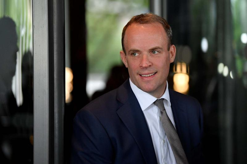 Brussels chiefs 'branded Dominic Raab turnip over his Brexit strategy'