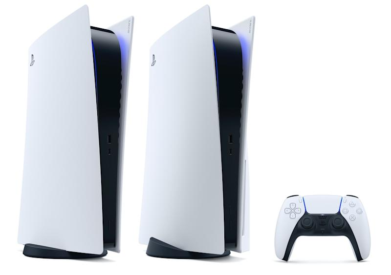 Sony's digital-only PlayStation 5 could sell for as much as $50 less than the standard PlayStation 5. (Image: Sony)