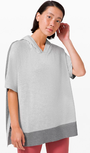 Opened Up Poncho (Photo via Lululemon)