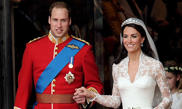 A look back at Kate and William's royal wedding