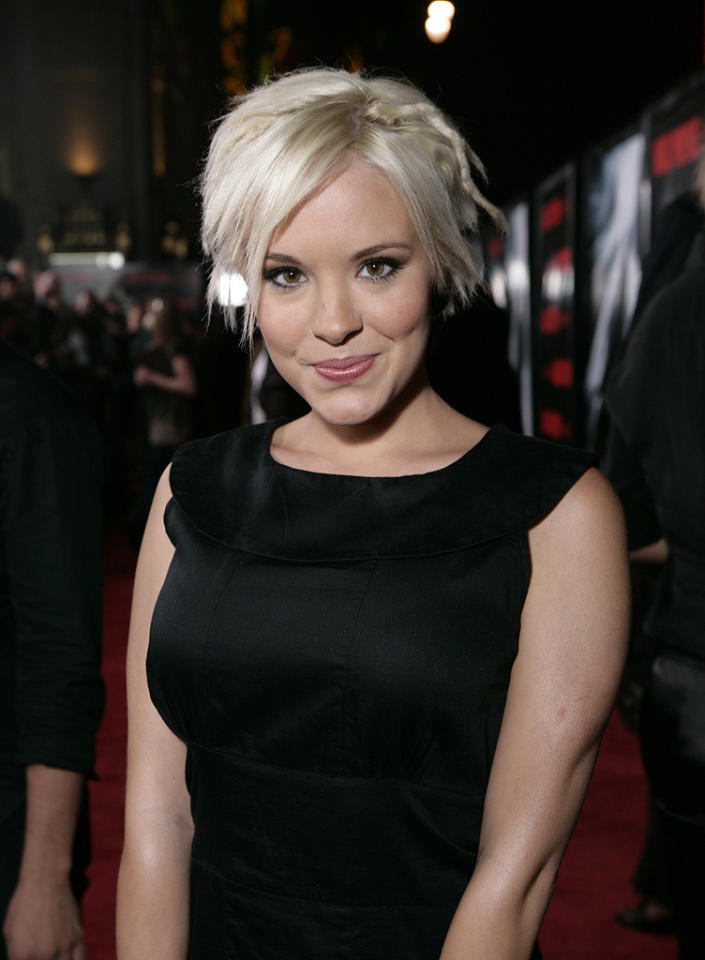 """Brea Grant at the Los Angeles premiere of <a href=""""http://movies.yahoo.com/movie/1810007086/info"""">Max Payne</a> - 10/13/2008"""