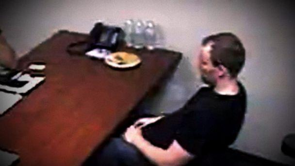 PHOTO: It was shortly after midnight on June 15, 2017 when Brendt Christensen found himself inside an interrogation room at the FBI's Champaign, Illinois field office. (FBI)