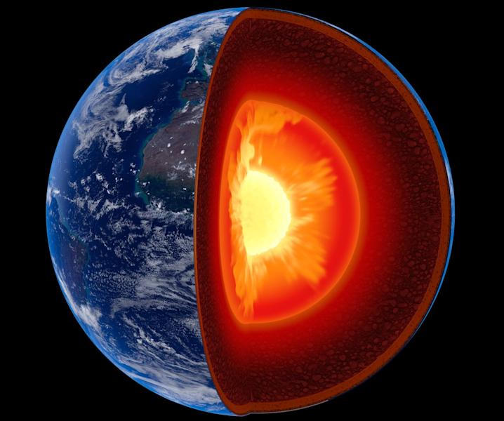 Scientists suspect that chunks from the bottom of the North American tectonic plate, which is the upper portion of the mantle, are peeling off and sinking. Replacing the resulting void is gooey material from the asthenosp
