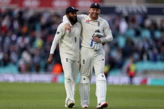 Rashid (left) and Bairstow (right) are long-time team-mates.
