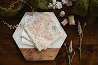 "<p>Skip the hot pink paper napkins and instead bring out your beautiful linens. These pastel <a href=""https://www.elledecor.com/life-culture/entertaining/a9500/galentines-day/"" rel=""nofollow noopener"" target=""_blank"" data-ylk=""slk:pink"" class=""link rapid-noclick-resp"">pink</a> floral napkins are an understated yet elegant accent for a romantic holiday. </p><p><em>Via <a href=""http://www.thehandkerchiefshop.com/"" rel=""nofollow noopener"" target=""_blank"" data-ylk=""slk:The Handkerchief Shop"" class=""link rapid-noclick-resp"">The Handkerchief Shop</a></em><br></p><p><a class=""link rapid-noclick-resp"" href=""https://go.redirectingat.com?id=74968X1596630&url=https%3A%2F%2Fwww.etsy.com%2Flisting%2F613910516%2Frose-gold-flower-napkins-rose-gold&sref=https%3A%2F%2Fwww.elledecor.com%2Flife-culture%2Ffun-at-home%2Fg2387%2Fvalentines-day-decor%2F"" rel=""nofollow noopener"" target=""_blank"" data-ylk=""slk:GET THE LOOK"">GET THE LOOK</a><em><br>Rose Gold Flower Napkins, Etsy, $5</em></p>"