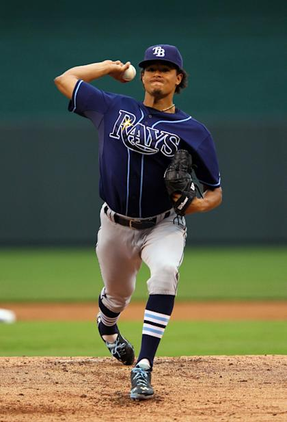 All-Star starter Chris Archer is still counted on to pitch big innings. (Getty)