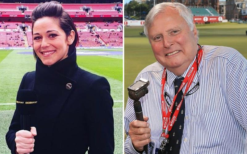 Eilidh Barbour and Peter Alliss are to be colleagues