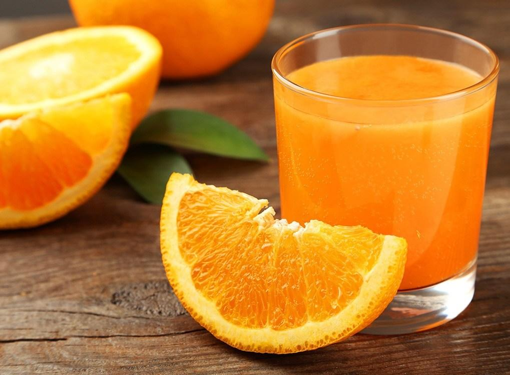 """Despite what you've heard, drinking orange juice actually does more harm than good when it comes to common cold treatment. Because orange juice is so acidic, it will burn the membranes in your throat when you're sick and further irritate them. As <strong>Michael Klaper</strong>, MD, <a href=""""https://www.doctorklaper.com/sore-throats"""" target=""""_blank"""">warns on his website</a>, """"Do not burn your inflamed throat membranes with acid liquids! Avoid orange juice (yes, orange juice!), citrus, pineapple, cola drinks, or any liquid that is acidic in nature, until your throat is pain-free."""""""