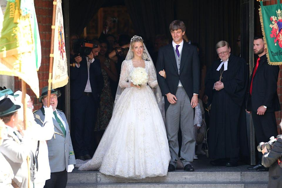 "<p>Prince Ernst-August V, brother-in-law to Prince Albert of Monaco and stepson of Princess Caroline of Monaco, took umbrage at his son's choice of a bride. When Prince Ernst-August Jr. of Hanover <a href=""https://www.hellomagazine.com/royalty/gallery/2018031569531/prince-ernst-august-jr-hanover-royal-wedding/1/"" rel=""nofollow noopener"" target=""_blank"" data-ylk=""slk:got married to Ekaterina Malysheva"" class=""link rapid-noclick-resp"">got married to Ekaterina Malysheva</a> in 2017, his father wasn't in attendance. Of his decision to skip the nuptials, which allegedly boiled down to an argument over castle ownership, Prince Ernst-August V said (via <em><a href=""https://people.com/royals/prince-ernst-august-publicly-opposes-sons-marriage/"" rel=""nofollow noopener"" target=""_blank"" data-ylk=""slk:People"" class=""link rapid-noclick-resp"">People</a></em>), ""The decision was not easy for me because it concerns my son. ... But I am constrained to preserve the interests of the House of Hanover and the property, including cultural property, which has been its property for centuries."" Okay, then.</p>"