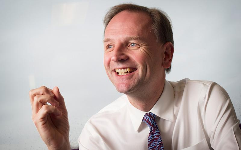Simon Stevens will pledge to cut long stays in hospital by one quarter, to free up beds for those most in need - Geoff Pugh