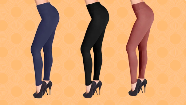 Meet your new wear-with-everything leggings. (Photo: Amazon)