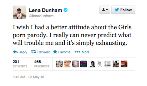 3 Reasons Lena Dunham Can't Laugh Off 'Girls' Porn Parody