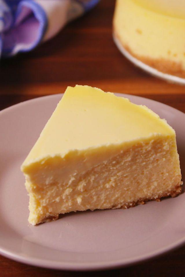 """<p>Seriously, if you've not being using slow cooker for sweet treats, you're missing out!</p><p>Get the <a href=""""https://www.delish.com/uk/cooking/recipes/a30606139/slow-cooker-cheesecake-recipe/"""" rel=""""nofollow noopener"""" target=""""_blank"""" data-ylk=""""slk:Slow Cooker Cheesecake"""" class=""""link rapid-noclick-resp"""">Slow Cooker Cheesecake</a> recipe.</p>"""