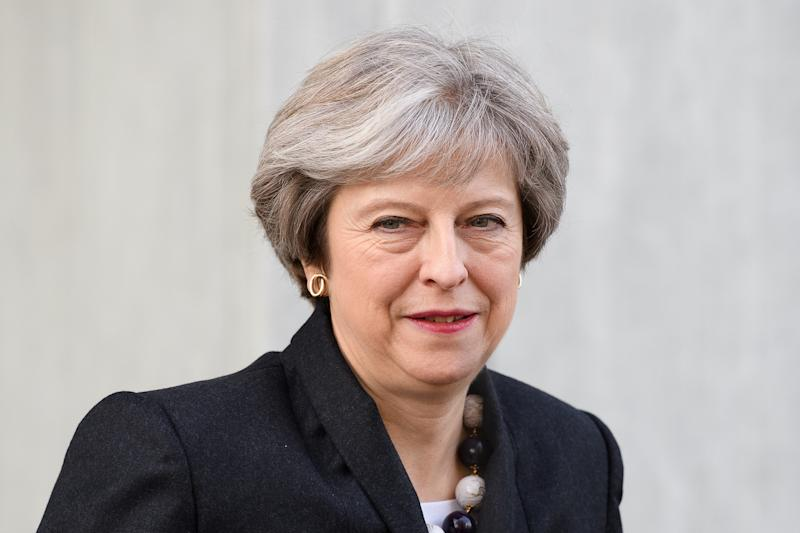 "British Prime Minister Theresa May on Wednesday said it was ""wrong"" for President Donald Trump to spread anti-Muslim videos on Twitter. (POOL New / Reuters)"