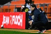 Mauricio Pochettino oversaw his first defeat as coach of PSG in a 3-2 loss at struggling Lorient