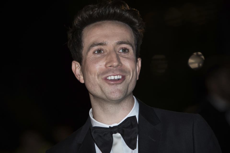 Nick Grimshaw poses for photographers upon arrival at the GQ's Men of The Year awards, in London, Tuesday, Sept. 5, 2017. (Photo by Vianney Le Caer/Invision/AP)