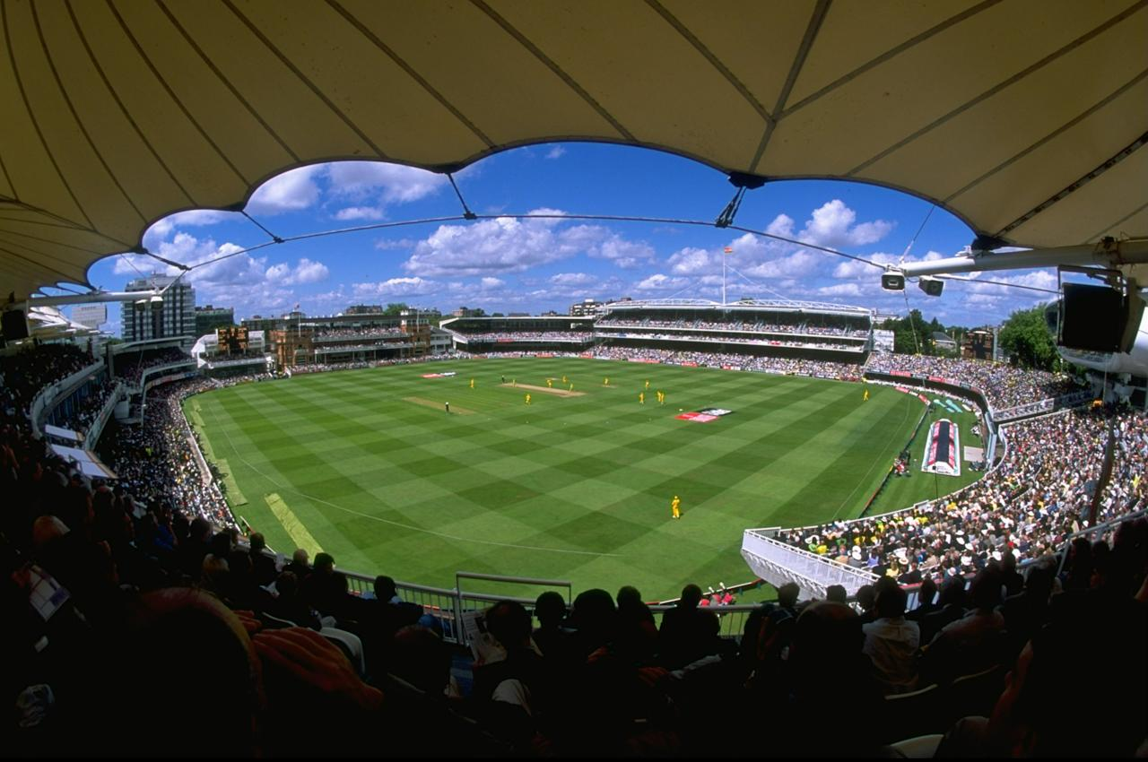 20 Jun 1999:  General view of Lord's during the Cricket World Cup Final between Australia and Pakistan in London. Australia won by 8 wickets. \ Mandatory Credit: Mike Hewitt /Allsport