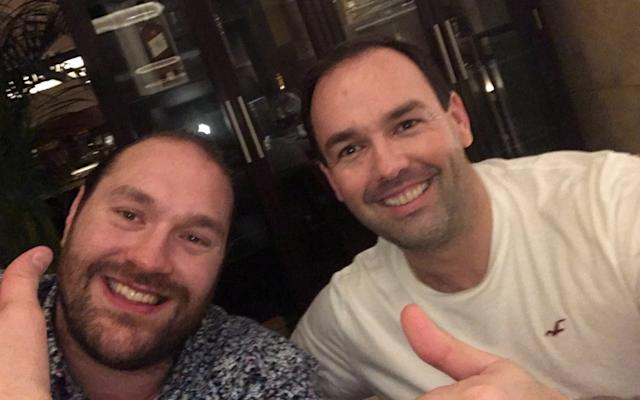 Tyson Fury and Daniel Kinahan - Daniel Kinahan to step away from boxing, according to Tyson Fury's management company - TWITTER