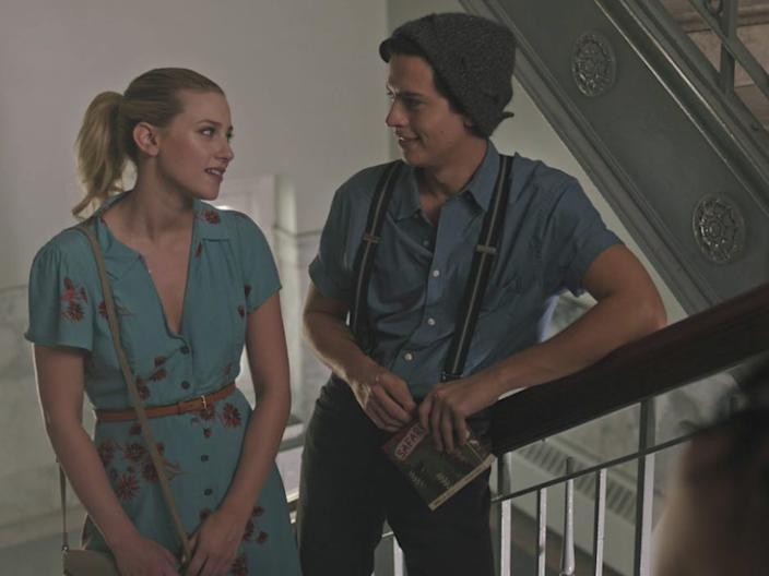 """Lili Reinhart and Cole Sprouse on """"Riverdale."""""""