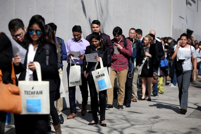 U.S. weekly jobless claims fall more than expected