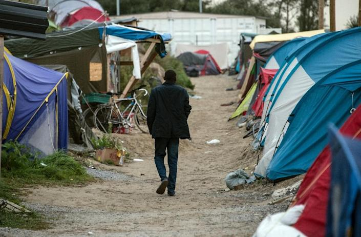 """The so-called """"Jungle"""" migrant camp in Calais is home to thousands of migrants hoping to make their way to Britain (AFP Photo/Denis Charlet )"""