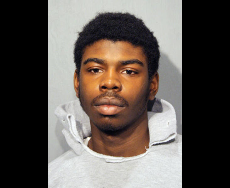 This undated booking photo provided by the Chicago Police Department shows Michael Ward, 18, of Chicago. Ward is one of two men charged with murder Monday, Feb. 11, 2013, in the death of 15-year-old Hadiya Pendleton, of Chicago. Pendleton was shot to death Jan. 29 in a park about a mile from President Barack Obama's home on Chicago's South Side. Just days before her death, the band majorette was among the performers at events for Obama's inauguration. (AP Photo/Chicago Police Department)
