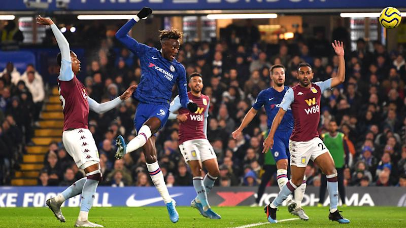 Chelsea 2-1 Aston Villa: Abraham on target and Willian shines as Lampard's men bounce back