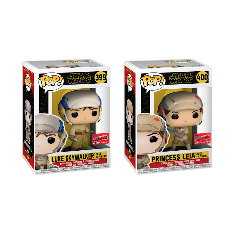 Luke Skywalker and Princess Leia (Jedi-Training) Funko Pop packaging (Photo: Funko)