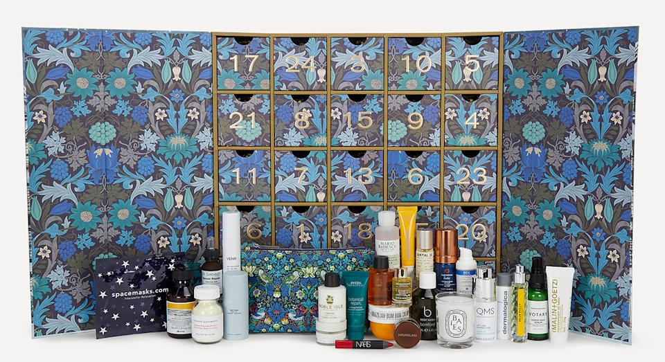 Liberty London's Beauty Advent Calendar 2020 is back in stock, one month after it first launched. (Liberty London)