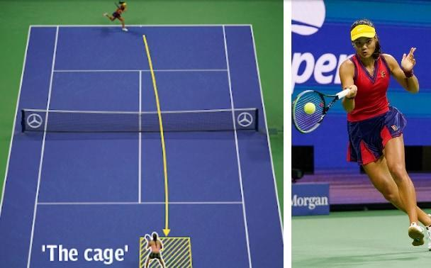 Of all her weapon's Emma Raducanu's return of serve might be her most potent - GETTY IMAGES