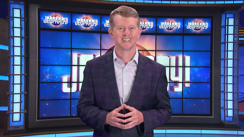 """Ken Jennings will be the first interim host on """"Jeopardy"""" after the passing of host Alex Trebek."""
