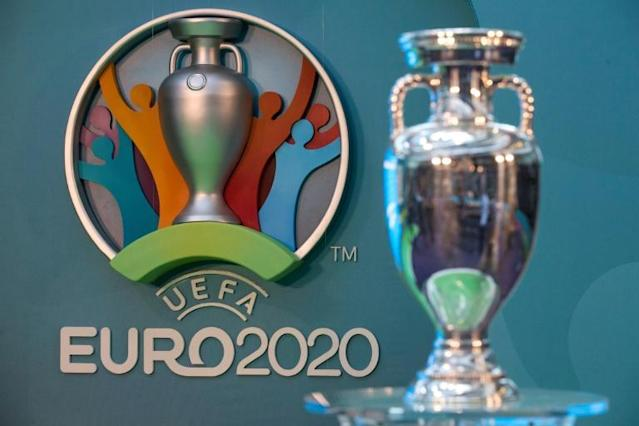The draw for the Europe-wide Euro 2020 tournament takes place in Bucharest on Saturday (AFP Photo/JUSTIN TALLIS)