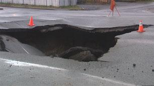 Officials hope the street can reopen on Tuesday.