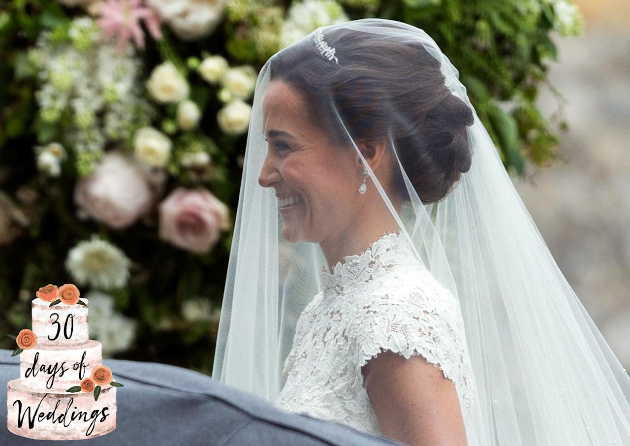celebrity veil-friendly hairstyles to recreate for your own