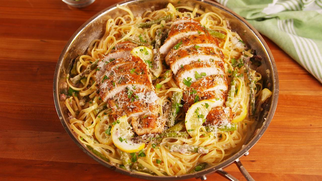 "<p>We love chicken dinners like Kanye loves Kanye.</p><p>Want more one-dish meals? Try our <a rel=""nofollow"">50 best-ever skillet dinners</a>.</p>"