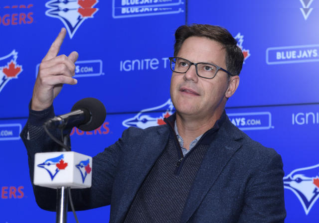 Ross Atkins was unusually candid about the Blue Jays analytics situation on Wednesday. (Nick Turchiaro/Icon Sportswire via Getty Images)