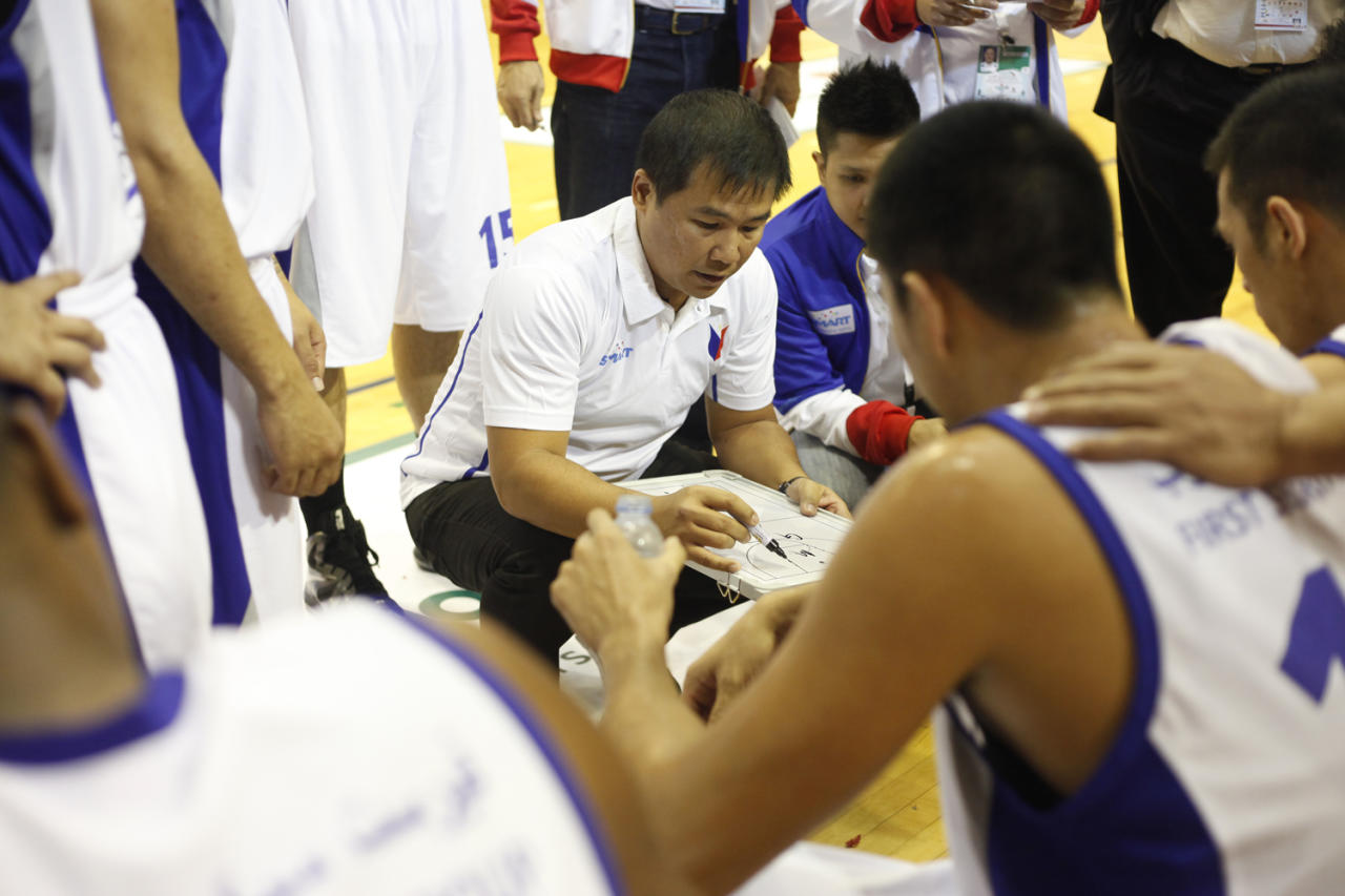 Gilas Pilipinas coach Chot Reyes has named the players that will form the Philippine team that will compete in the 2013 FIBA Asia Championship to be held from August 1 to 11 in Manila. (Photo by Herbert Iponla)